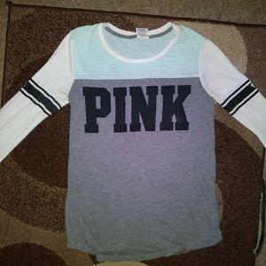 Victoria's Secret pink 3/4 sleeve shirt